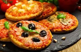 Pizza brotinho fácil