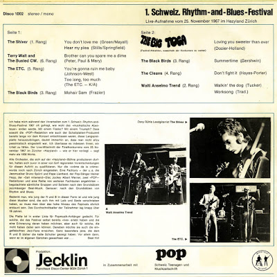 Schweizer Rhythm & Blues Festival 25. Nov. 1967  (Heimatliche Klaenge  VOL.205)