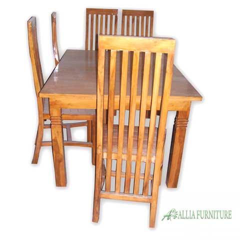 kursi meja makan set klender minimalis