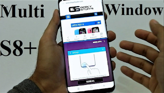 Cara Menggunakan Aplikasi di Split Screen Samsung Galaxy S8