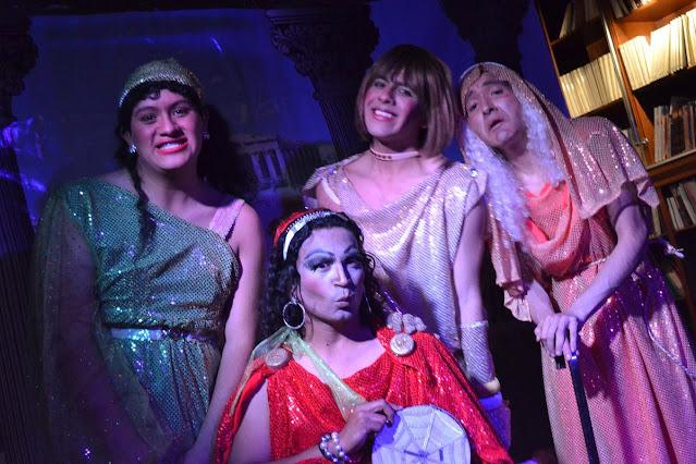 La compañía Talavera Cabaret visibiliza causas sociales a través del teatro. Fotografía: Cortesía Compañía Teatral Talavera Cabaret.