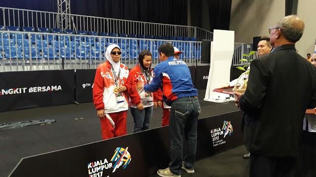 Sumbang 5 Medali Emas, Dua Atlet Kuningan Turut Hantar Indonesia Raih Juara Umum Para Games ASEAN 2017