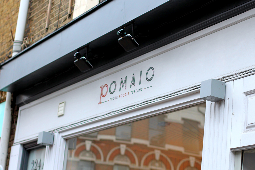 Enoteca Pomaio, Tuscan restaurant, Brick Lane - London lifestyle blog