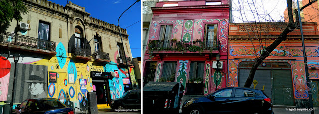 Fileteado no bairro de Abasto, Buenos Aires