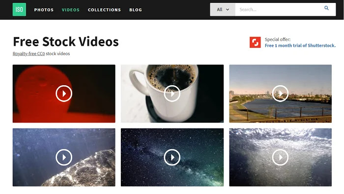 IsoRepublic helps to download best and quality videos and images free