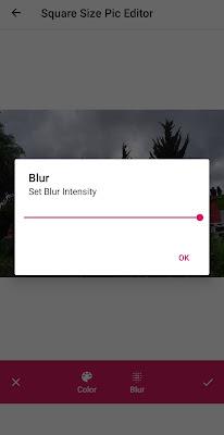 Cara Membuat Efek Tepi Foto Blur / Bokeh Tepi