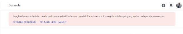 Cara Mengatasi Masalah File Ads.txt Google Adsense
