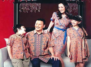 Model Baju Gamis Batik Untuk Pesta Pernikahan