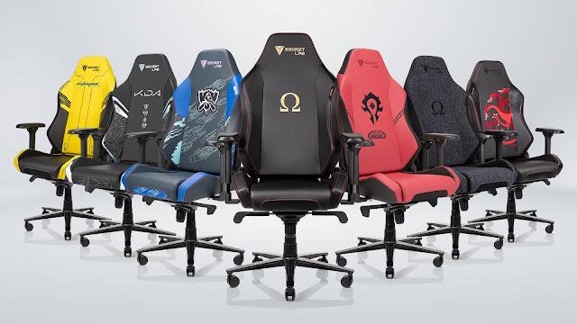 Tiêu chuẩn chọn ghế gaming: Thiết kế và kích thước