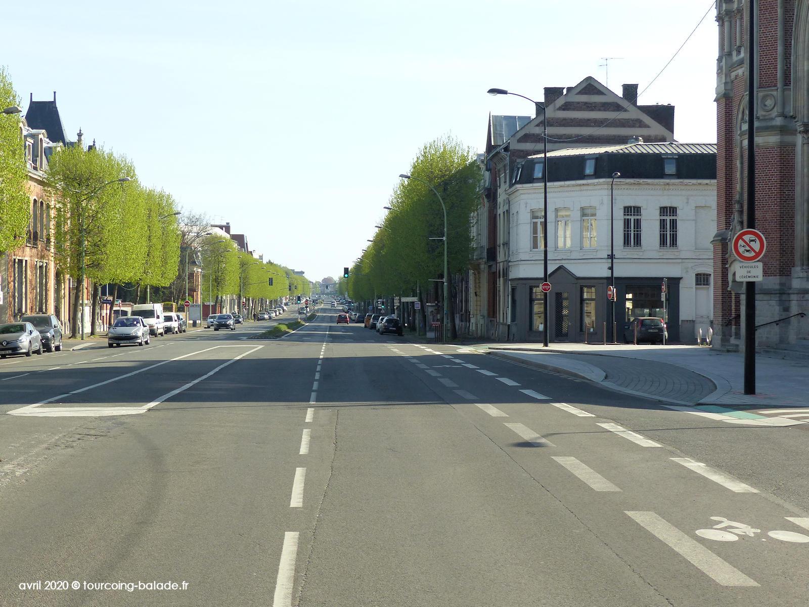 Boulevard Gambetta, Tourcoing 2020