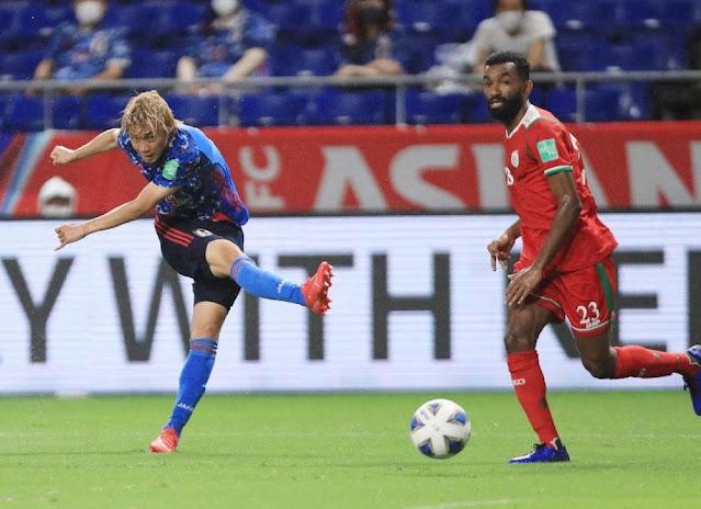 ملخص هدف فوز عمان علي اليابان (1-0) تصفيات كأس العالم