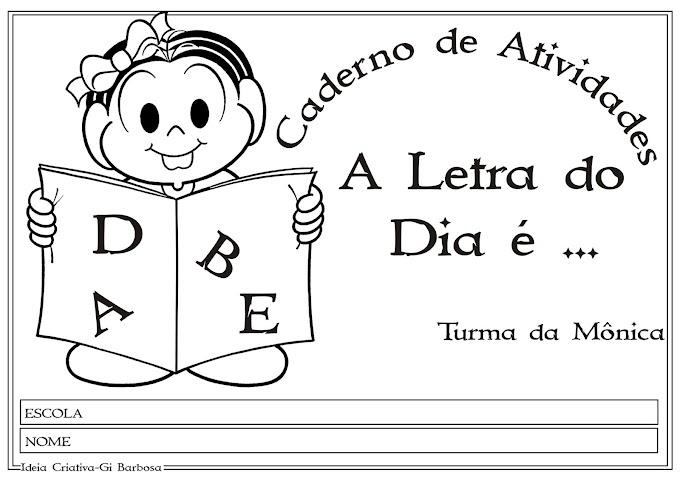 Apostila completa com texto Letras do Alfabeto para o Maternal