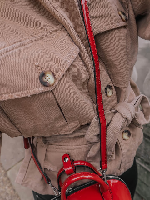 zara woman utility jacket 2019