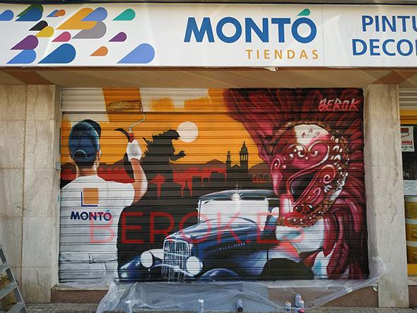 Graffiti Pintures Montó