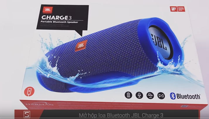 Trọn hộp JBL Charge 3