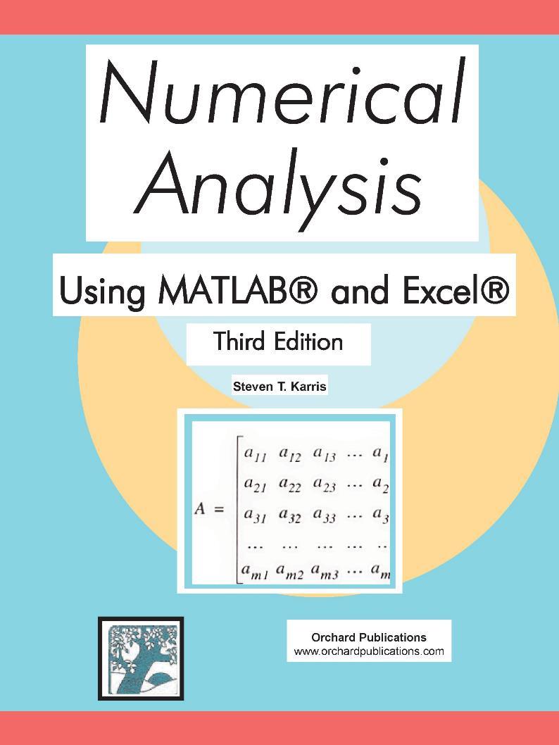 Numerical Analysis, 3rd Edition – Steven T. Karris