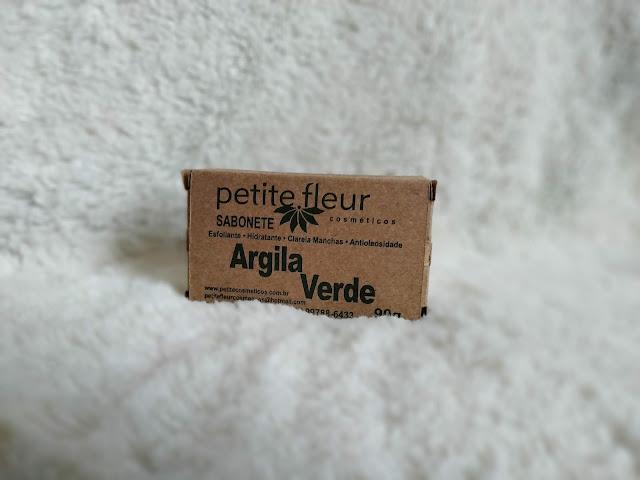 Sabonete Argila Verde - Petite Fleur