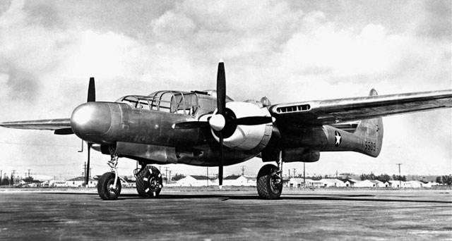 P-61 Black Widow first flight is on 26 May 1942 worldwartwo.filminspector.com