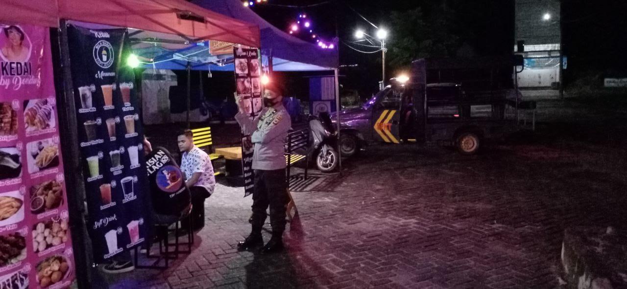 Meminimalisir Tindak Kejahatan, Personel Polsek Masamba Rutin Gelar Patroli