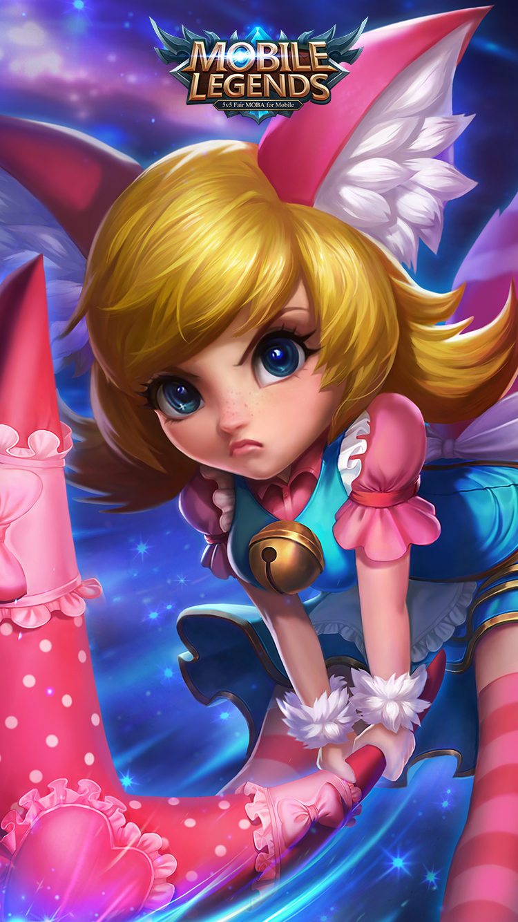 Hd wallpaper mobile legends - Nana Wonderland