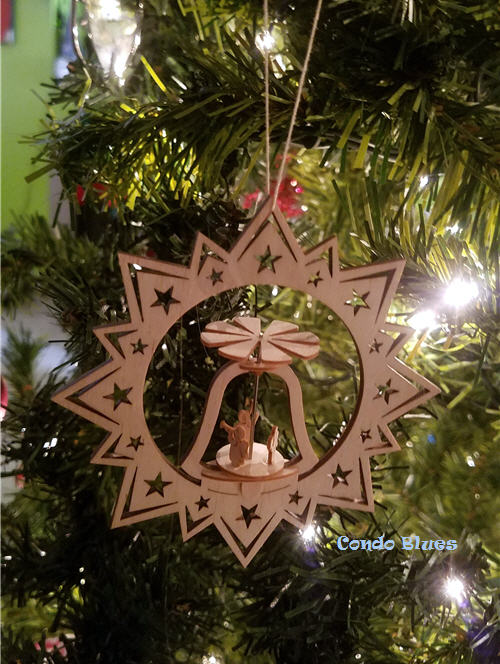 German pyramid Christmas ornament