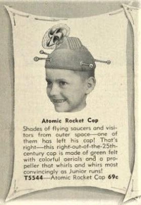 Atomic Rocket Cap