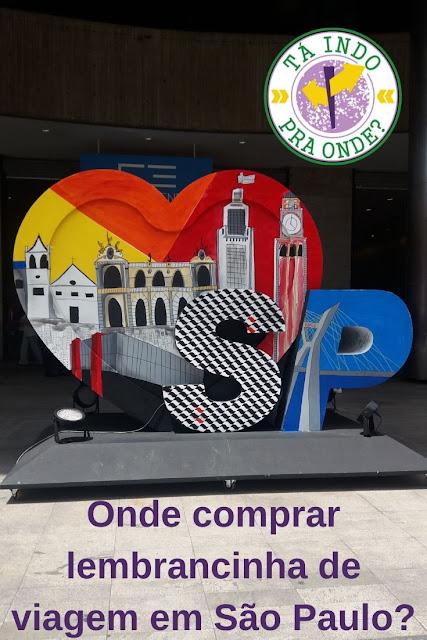 Onde comprar souvenirs de São Paulo?