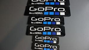 Stiker Gratis Dari GOPRO Buruan !!!