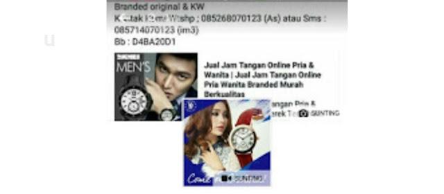 Toko online Jam Tangan Branded
