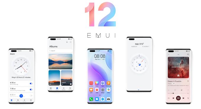 EMUI 12 : Huawei se met à jour