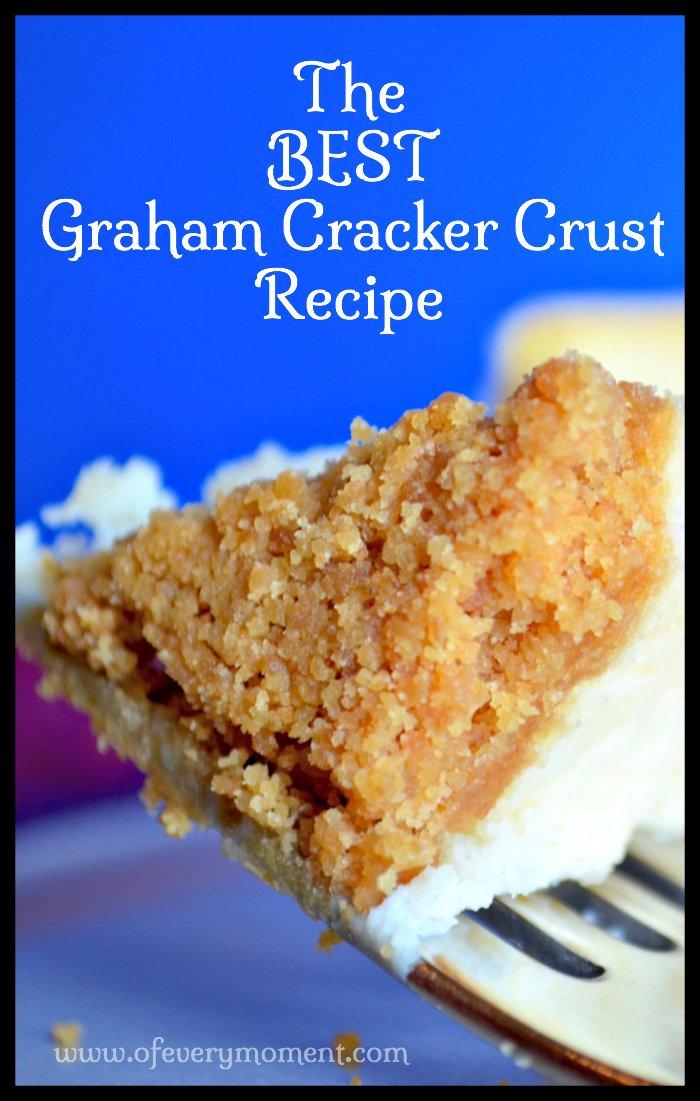 The perfect graham cracker crust!