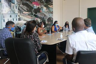 Imagem de reunião em Cachoeira Bahia