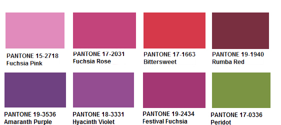 Fuschia Vs Purple