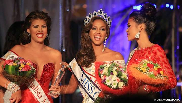 Eye For Beauty: Laurien Angelista wins Miss Universe Curacao