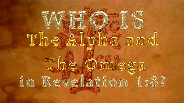 Revelation 1:8?