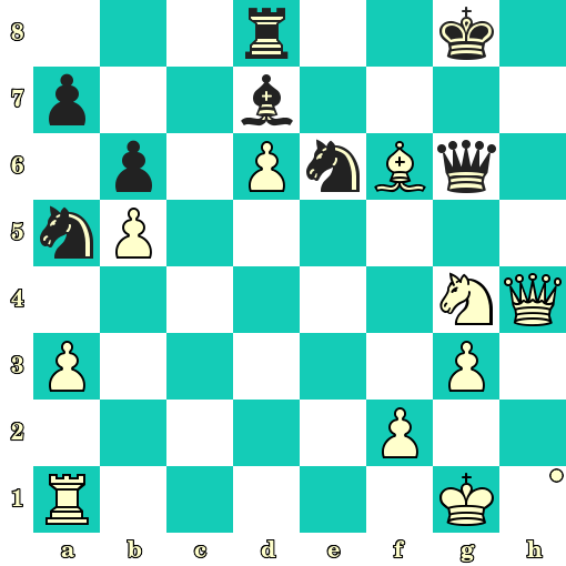 Les Blancs jouent et matent en 2 coups - Radoslaw Barski vs Stefan Pogosyan, Chorzow, 2019