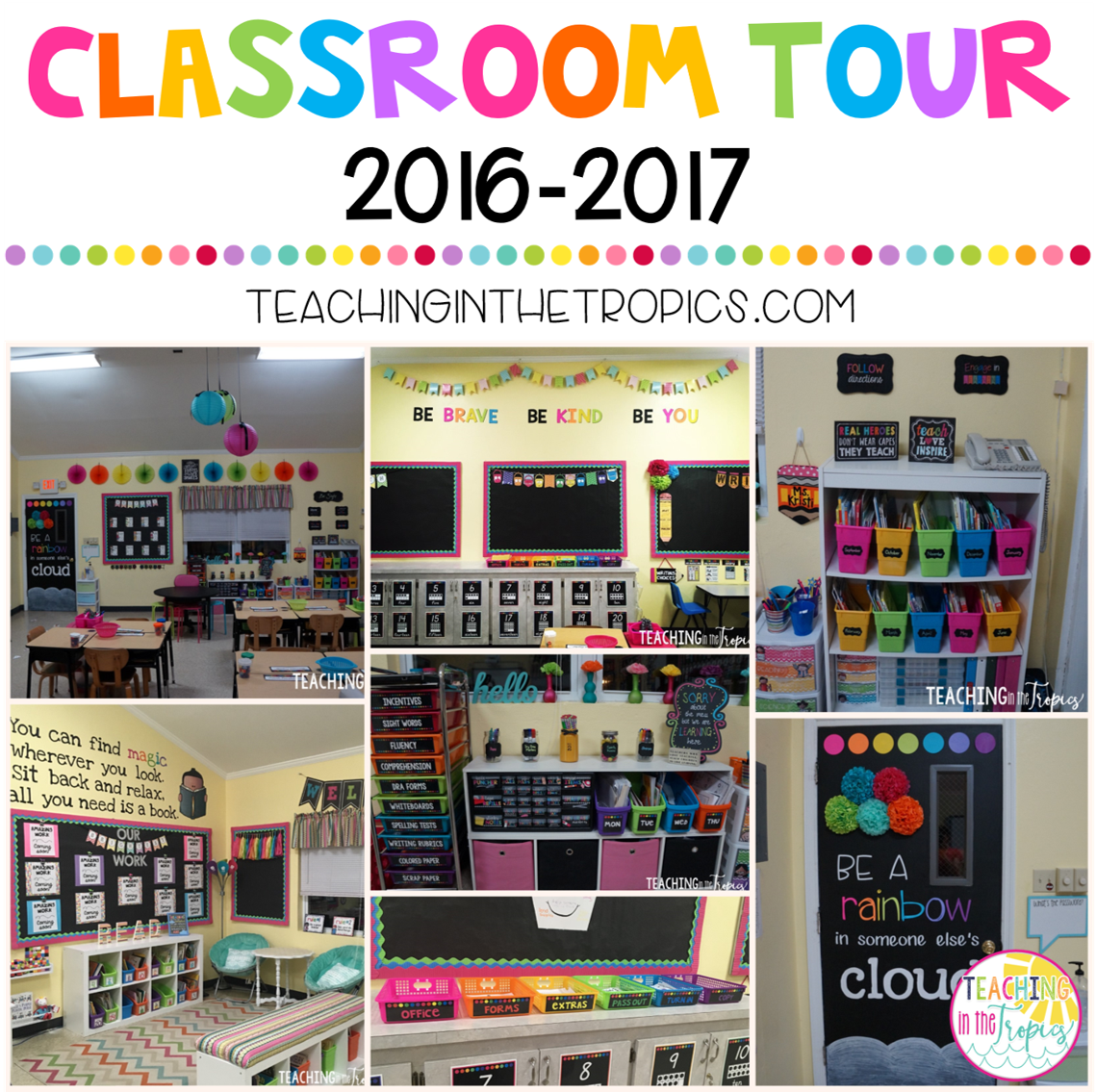 Classroom Chalkboard Ideas ~ Teaching in the tropics