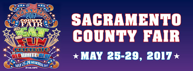 Great weather this weekend for the Sacramento County Fair