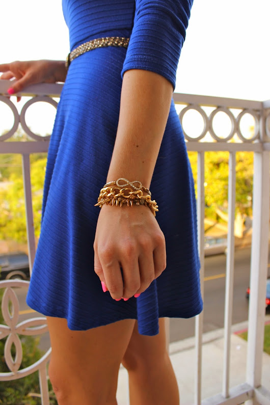 Cobalt Blue & Stylish Tuesday!