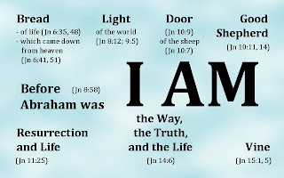 'I AM' statements of Jesus Christ as recorded in the Gospel account of John.
