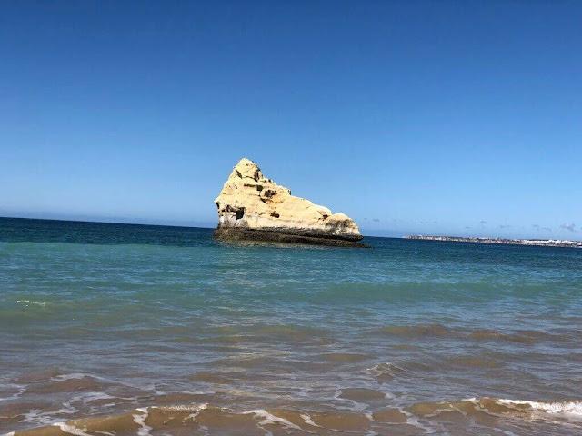 Em tons de Azul (Praia da Rocha)