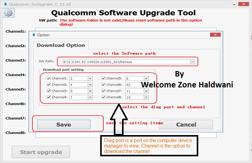 Tutorial] How to use qualcomm software upgrade tool – Flash File Tool