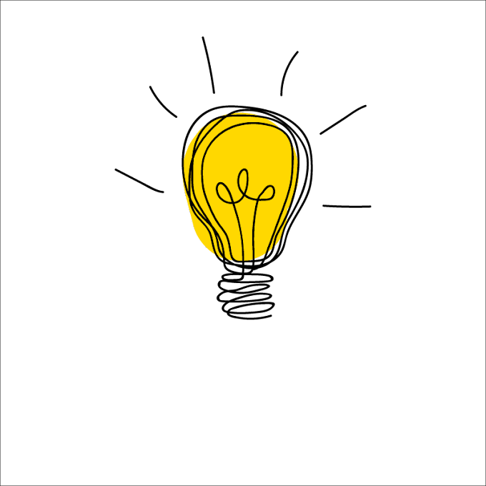 Idea Drawing Icon, bulb, text, innovation, bulbs png free png