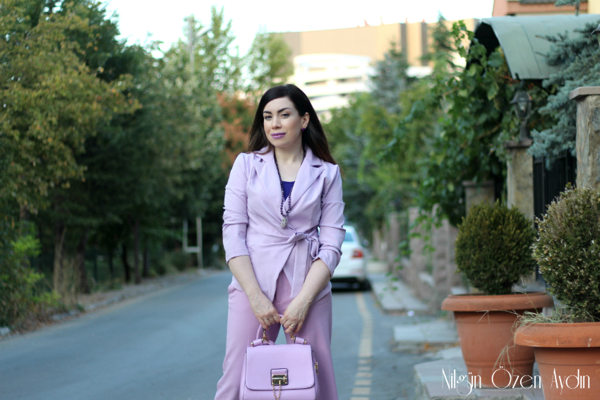 Lila rugan stilettolar-moda blogu-fashion blogger-lila ceket
