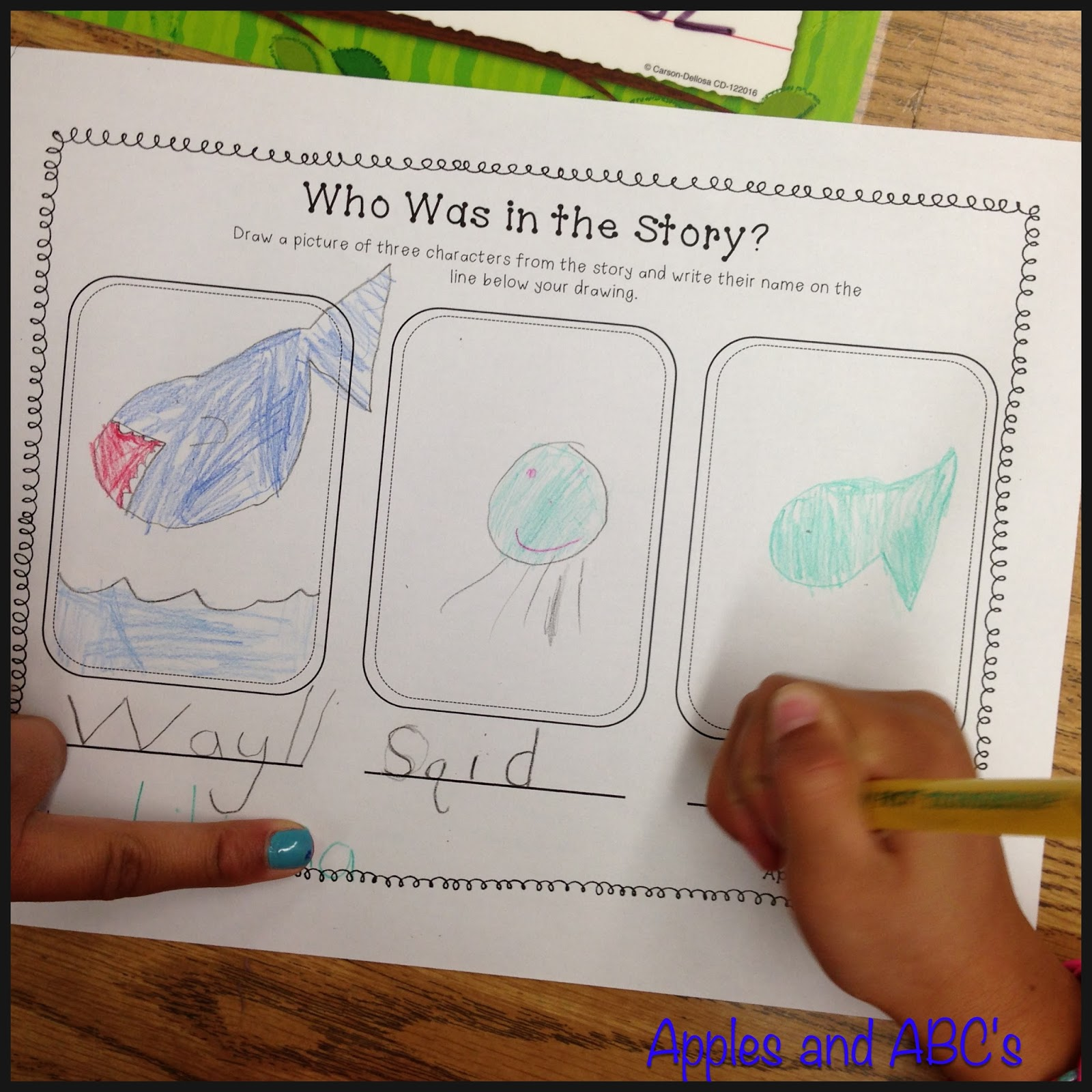 Story Elements For Kindergarten And Comprehension Wands
