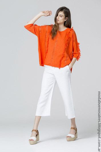 Blusas de moda mujer verano 2017 ropa. Moda 2017 verano.