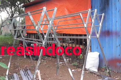Jemuran Stainless Pesanan Bpk Catur Di Perumahan Bogor Indah Ketadenan Bogor