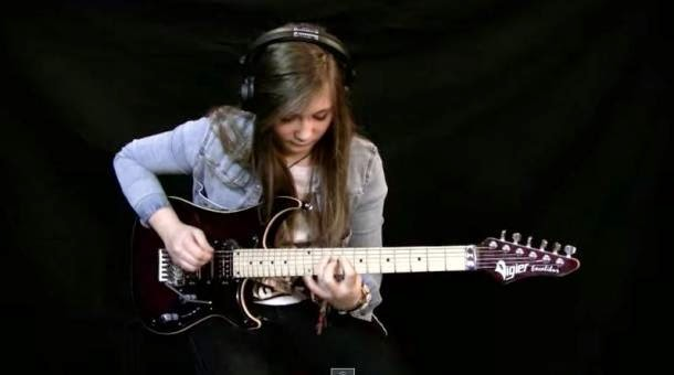 15-Year-Old Girl Shreds The Guitar