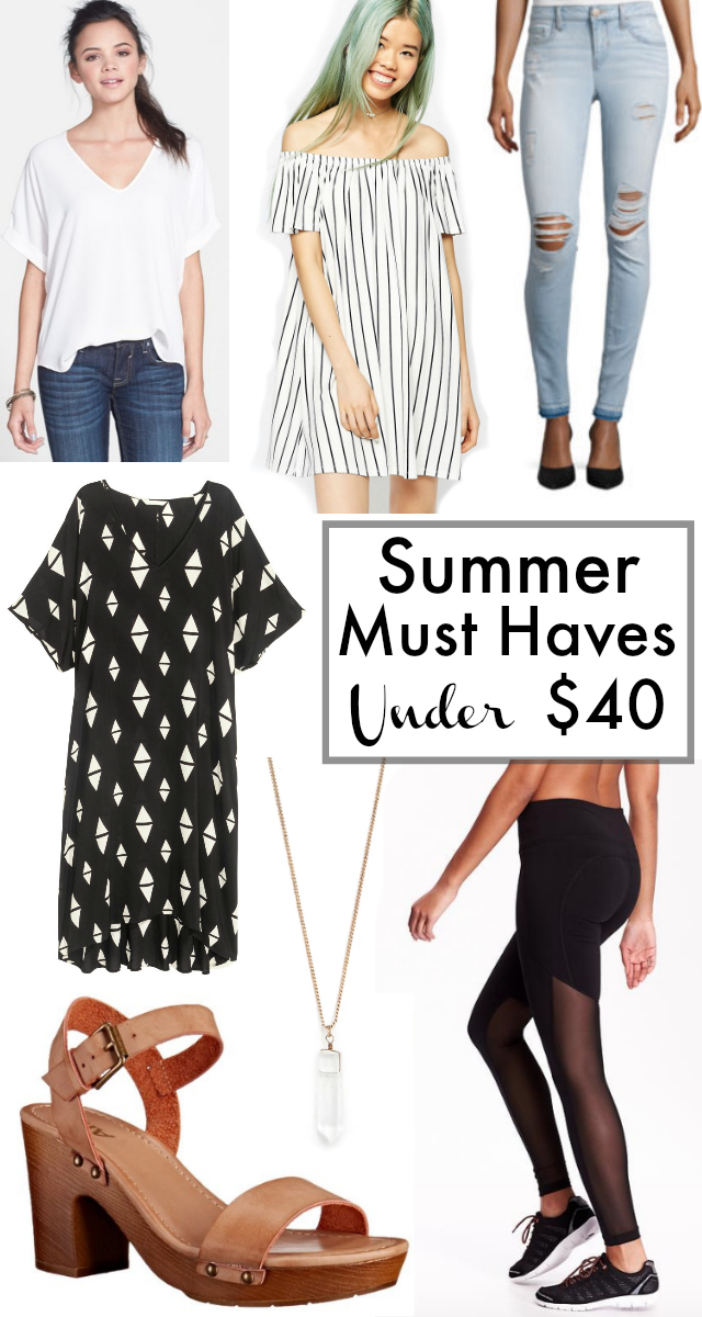 Cheap Summer Must Haves