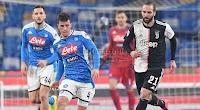نابولي يحقق فوز ثمين على يوفنتوس في الجولة 21 من الدوري الايطالي